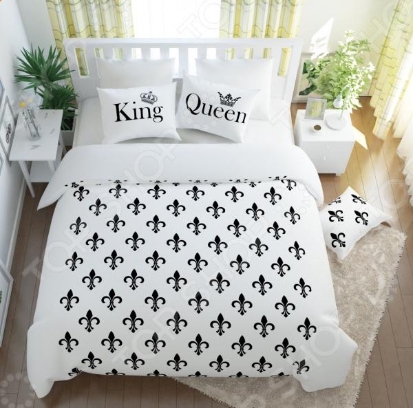Комплект постельного белья Сирень «Королевский дуэт» комплект постельного белья сирень дуэт