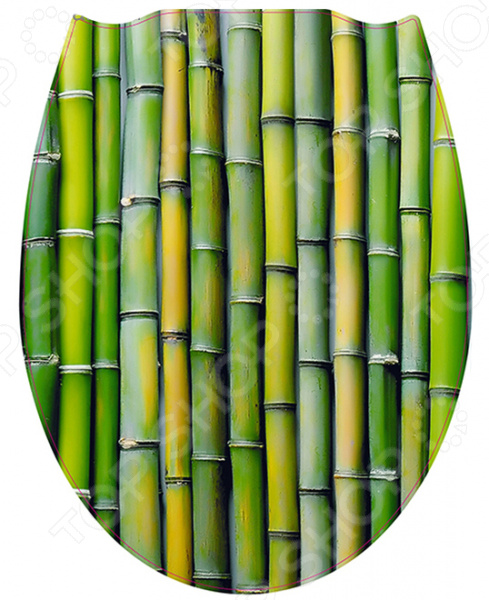 Сиденье для унитаза Стар Экспо «Бамбук» сувенир экспо