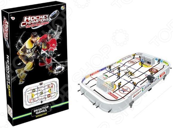 Хоккей настольный S+S TOYS СС76720 конструктор s s toys констр р с фигурками 6 элементов 100860955