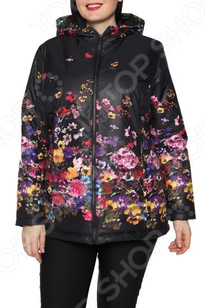 Куртка Гранд Гром «Пестрое настроение». Цвет: черный туника гранд гром ассорти идей цвет коричневый