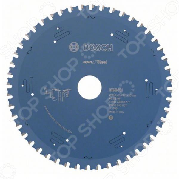 Диск отрезной Bosch Expert for Steel 2608643057 круг отрезной bosch expert for metal 230x1 9x22 2 608 603 400