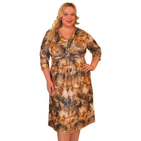 Купить Платье Klimini «Климента». Цвет: коричневый