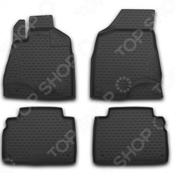 Комплект ковриков в салон автомобиля Element Lexus LX 470 1998-2007
