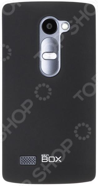 Чехол защитный skinBOX LG Leon чехлы для телефонов skinbox накладка для lg nexus 5 skinbox серия 4people защитная пленка в комплекте