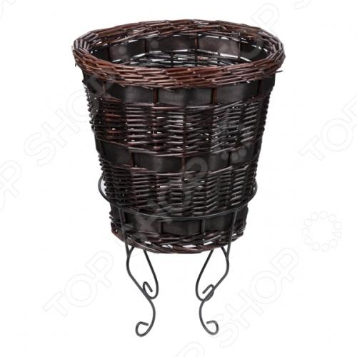 Zakazat.ru: Корзина плетеная круглая на подставке 2К Комфорт 1716123