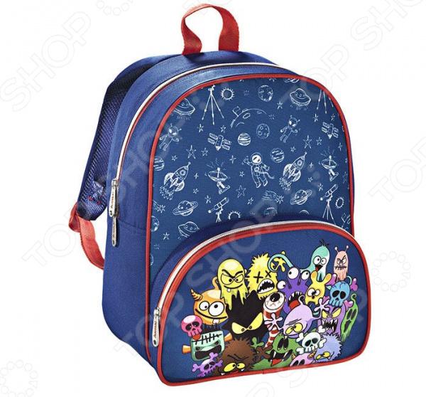 Рюкзак детский Hama Monsters рюкзак детский hama sweet owl розовый голубой