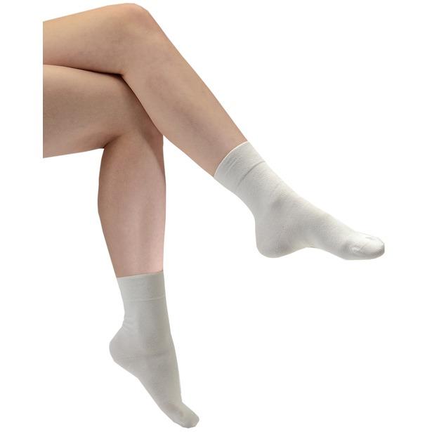 фото Носки белые для диабетиков «Женские»