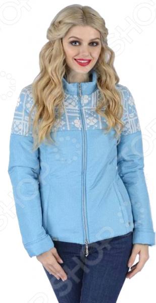 Куртка D`imma «Женева». Цвет: бирюзовый d imma fashion studio плащ катрин бежевый