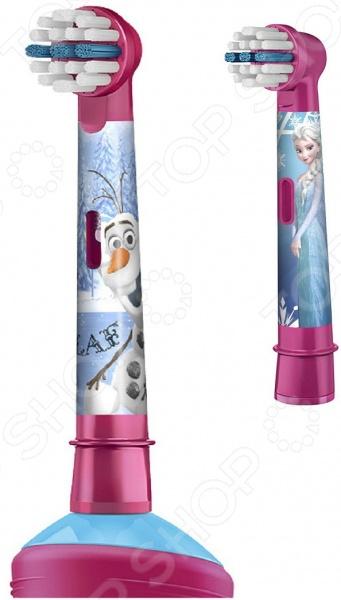 Насадки для зубной щетки Braun Oral-B Frozen Kids EB10K