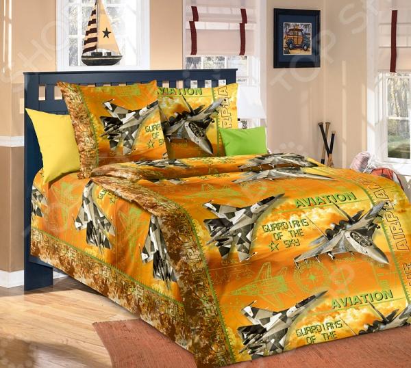 Детский комплект постельного белья Бамбино «Стражи неба»
