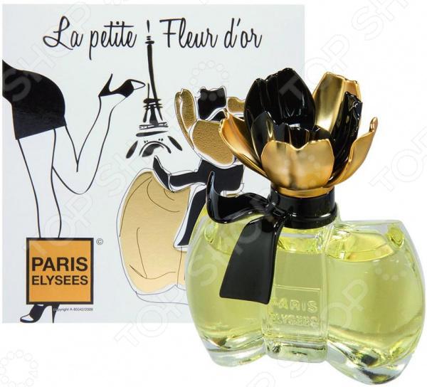 Туалетная вода для женщин Paris Elysees La Petite Fleur D'Or, 100 мл
