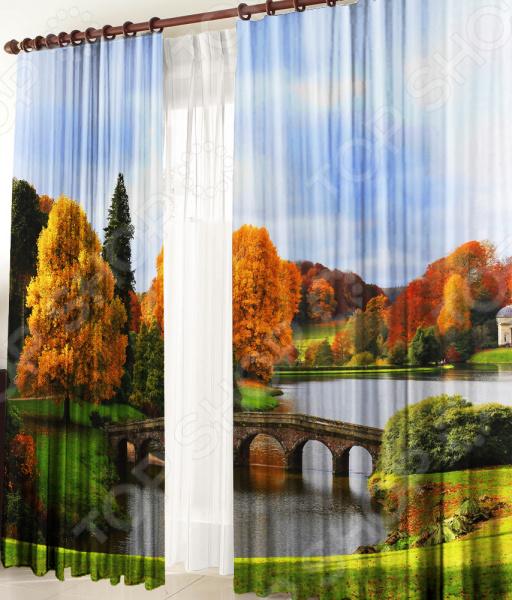 Фотошторы ТамиТекс «Осенний пейзаж»