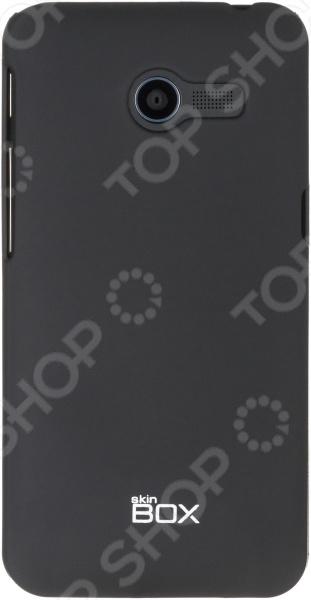 Чехол защитный skinBOX ASUS ZenFone 4 аксессуар чехол накладка asus zenfone c zc451cg skinbox 4people black t s azc 002 защитная пленка