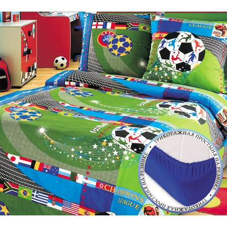 Купить Детский комплект постельного белья ТексДизайн «Чемпионат»