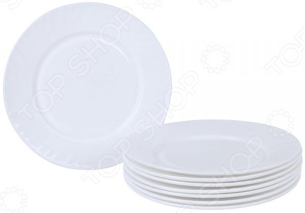 Набор тарелок Rosenberg RGC-325002 набор суповых тарелок rosenberg rgc 325004