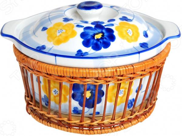 Форма для выпечки с крышкой Bayerhoff «Цветы»