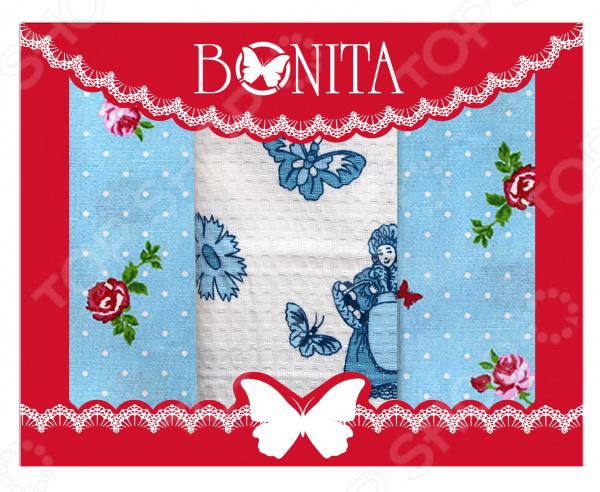 Набор кухонных полотенец BONITA «Франция» набор полотенец для кухни bonita набор из 2 полотенец для кухни фрукты овощи