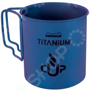 Кружка со складными ручками Adrenalin Titanium Cup