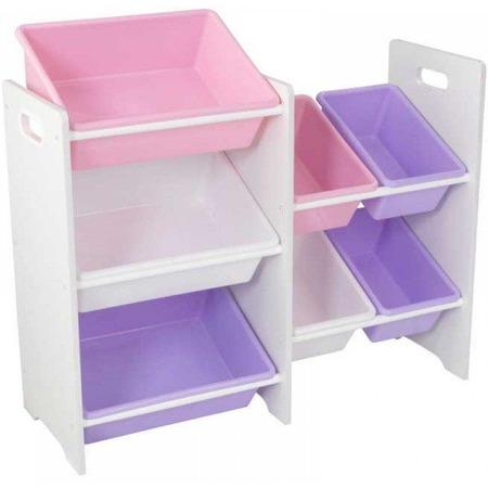 Купить Система для хранения игрушек KidKraft с 7 контейнерами 15471_KE