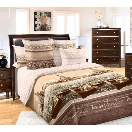 Купить Комплект постельного белья Королевское Искушение «Венеция». Тип ткани: сатин. Евро