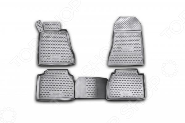 Комплект ковриков в салон автомобиля Novline-Autofamily Mercedes-Benz E-Class W210 1995-2002 комплект 3d ковриков в салон автомобиля novline autofamily mercedes benz с class w205 2014