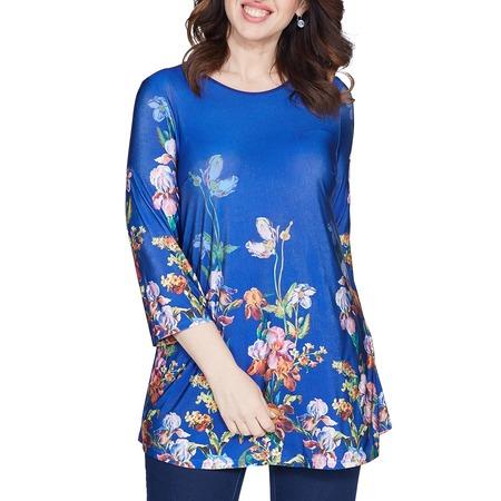 Купить Блуза Лауме-Лайн «Яркое воспоминание». Цвет: васильковый