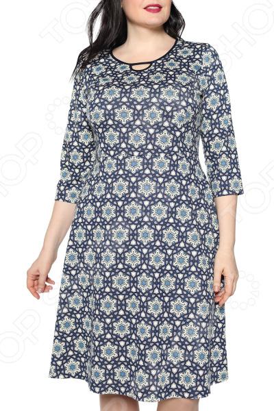Платье Лауме-стиль «Звезда моя». Цвет: синий