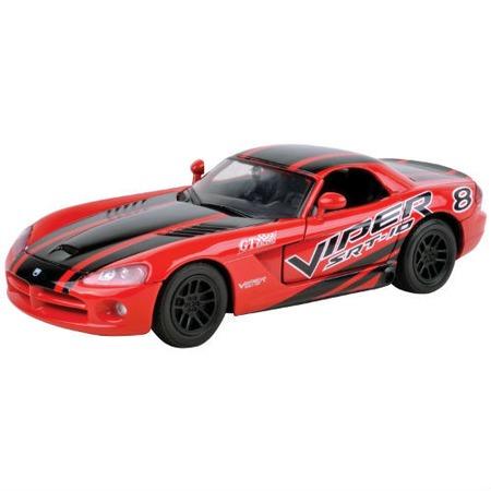 Модель автомобиля 1:24 Motormax Dodge Viper SRT10 Racing 2003