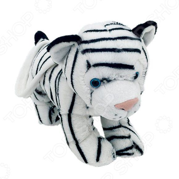 Мягкая игрушка Fluffy Family «Сумочка Тигренок белый»