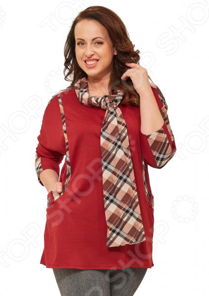 Туника Pretty Woman «Триша». Цвет: красный