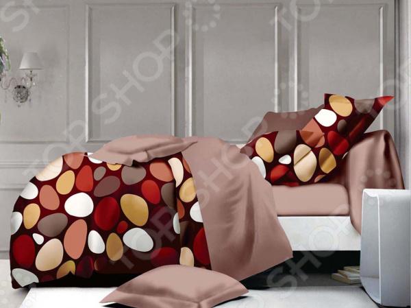 Комплект постельного белья Бояртекс «Цветные камни». 1,5-спальный