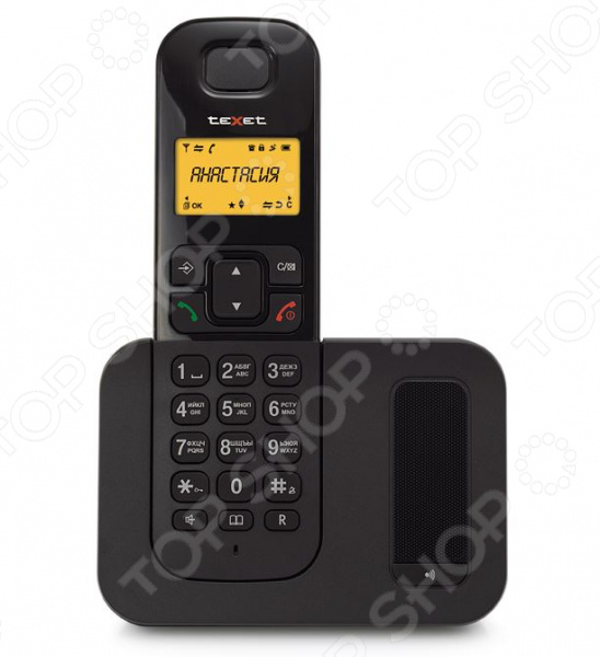 Фото - Радиотелефон Texet TX-D6605А проводной и dect телефон foreign products vtech ds6671 3
