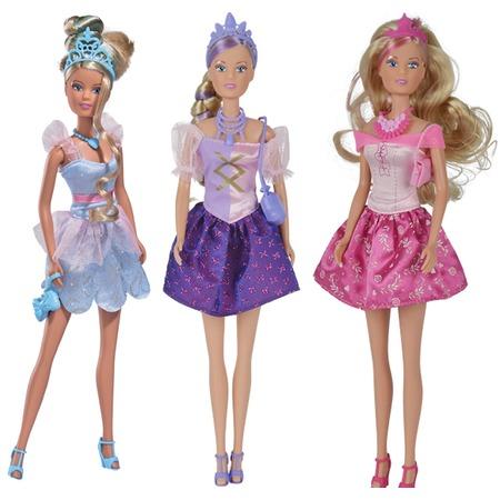 Купить Кукла Simba «Штеффи - стильная принцесса». В ассортименте