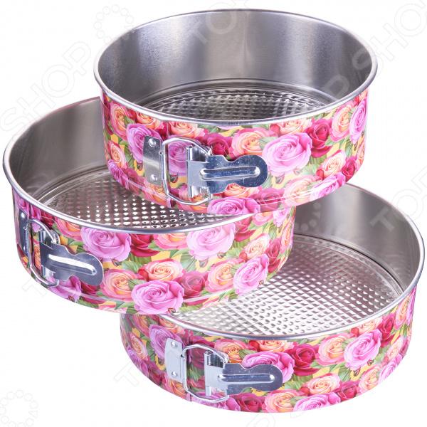 Набор форм для выпечки «Розы в саду»