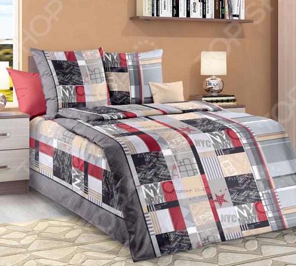 Комплект постельного белья Белиссимо «Лофт». 1,5-спальный