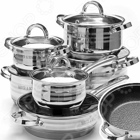 Набор посуды Mayer&Boch MB-26706 сковорода d 24 см mayer and boch mb 22477