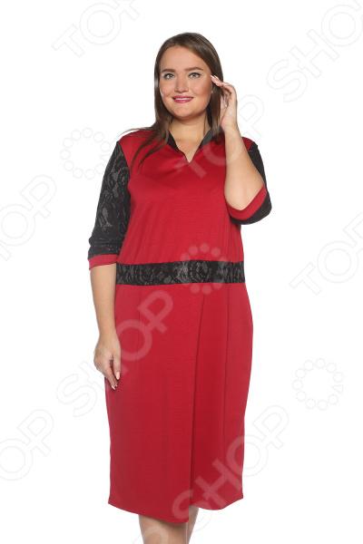 Платье Pretty Woman «Знатная дама». Цвет: бордовый