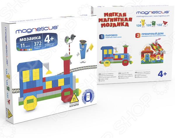 Мозаика Magneticus «Поезд» мозаика paulinda мозаика super beads попугай 200 элементов