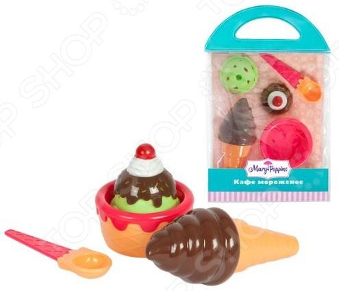Набор продуктов игрушечных Mary Poppins «Шоколадное мороженое» игровой набор для ребенка mary poppins кафе мороженое 453052