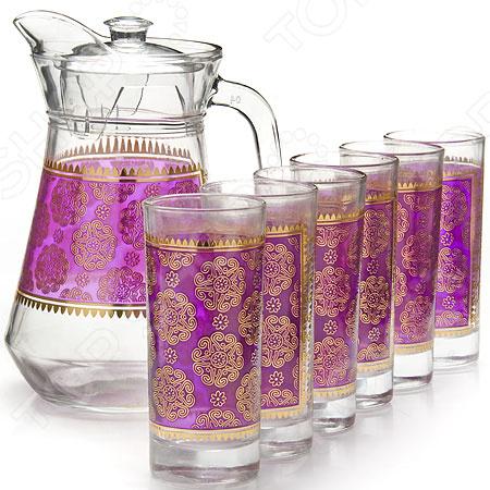 Набор: графин и 6 стаканов Loraine 25768