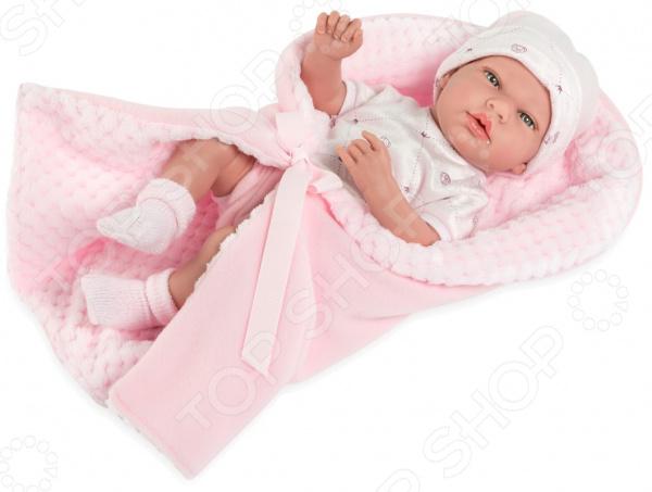 Пупс с аксессуарами Arias Elegance с фактурным одеялком