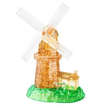 Купить Пазл 3D Crystal Puzzle «Мельница»