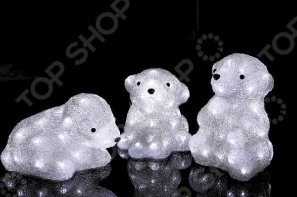 Фигура светодиодная Neon-Night «Медвежата»