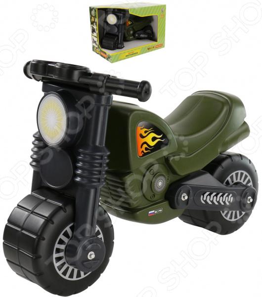 Мотоцикл игрушечный Wader «Моторбайк военный»