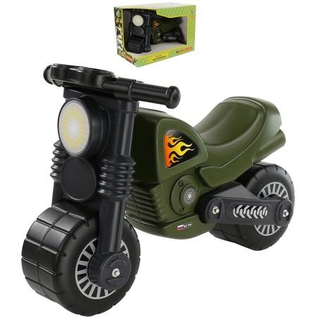 Купить Мотоцикл игрушечный Wader «Моторбайк военный»