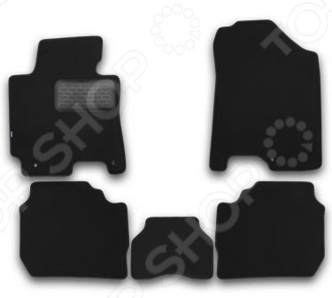 Комплект ковриков в салон автомобиля Klever KIA Cerato 2013 Premium