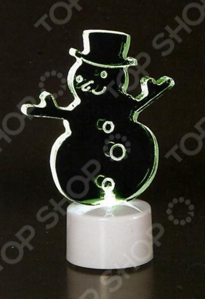 Фигура светодиодная Neon-Night «Снеговик в шляпе 2D»