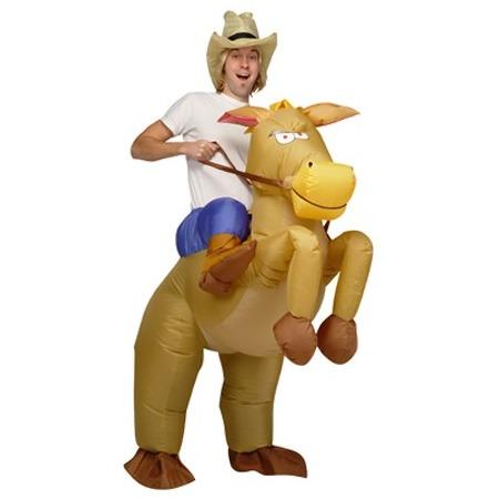 Купить Костюм надувной Просто-Полезно «Наездник ковбой»