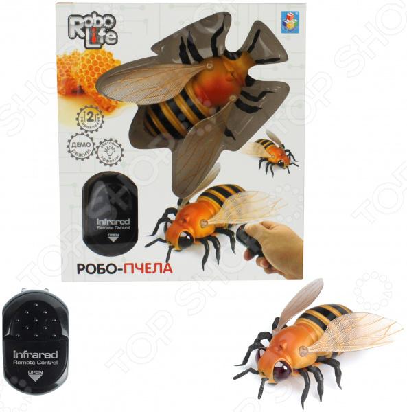 Игрушка-робот интерактивная 1 Toy «Робо-пчела»
