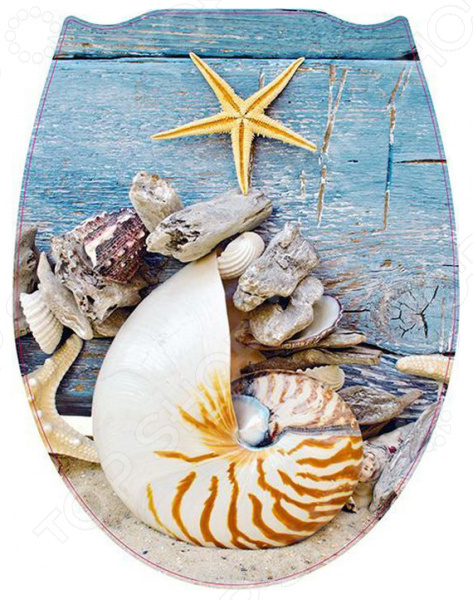 Сиденье для унитаза Стар Экспо «Морской»